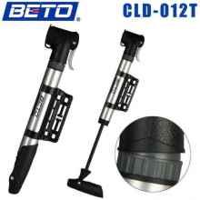 Велосипедный насос Beto CLD-012T алюминиевый 2 головки, поворотный