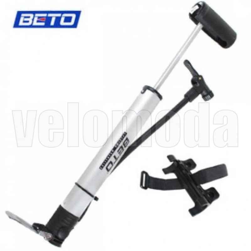 Велосипедный насос Beto CCO-012A алюминиевый со шлангом