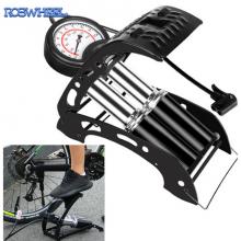 Велосипедный напольный насос высокого давления Roswheel 311375 с манометром и шлангом