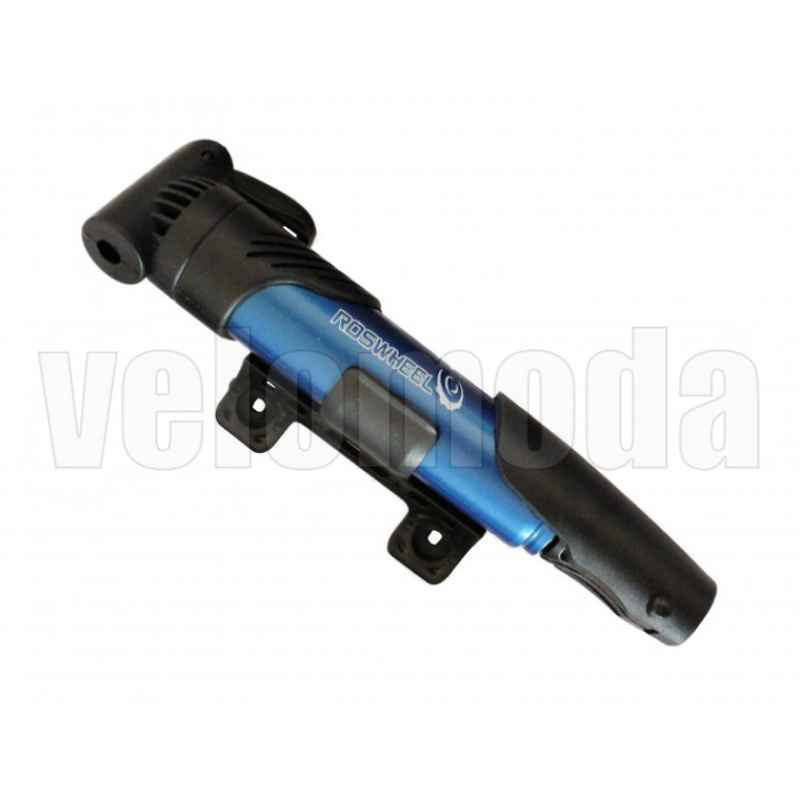 Велосипедный насос Sahoo ручной мини (черный/красный/синий)