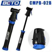 Велосипедный насос Beto мини с креплением (синий)