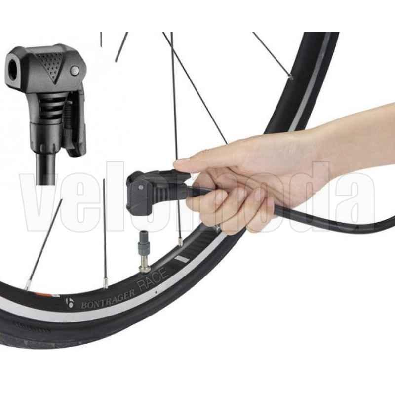 Насос велосипедный напольный Beto CFL-501PG7 с манометром 160 Psi