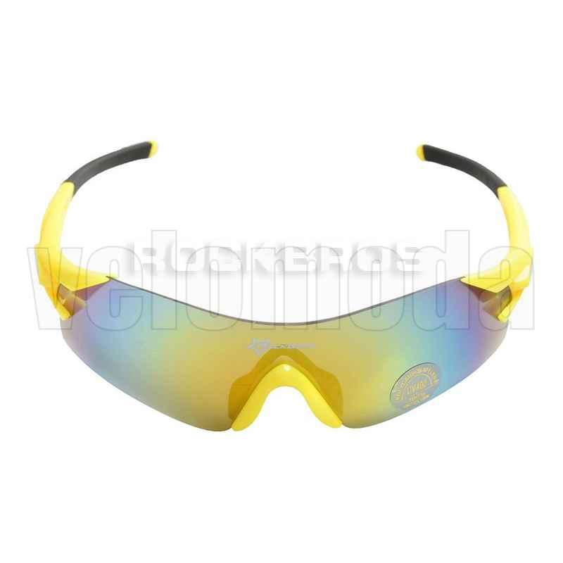 Очки велосипедные RockBros RB-10021 UV-400 (желтые)