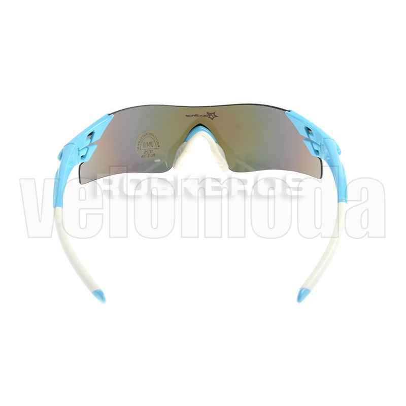 Очки велосипедные RockBros RB-10024 UV-400 (голубой с белым)