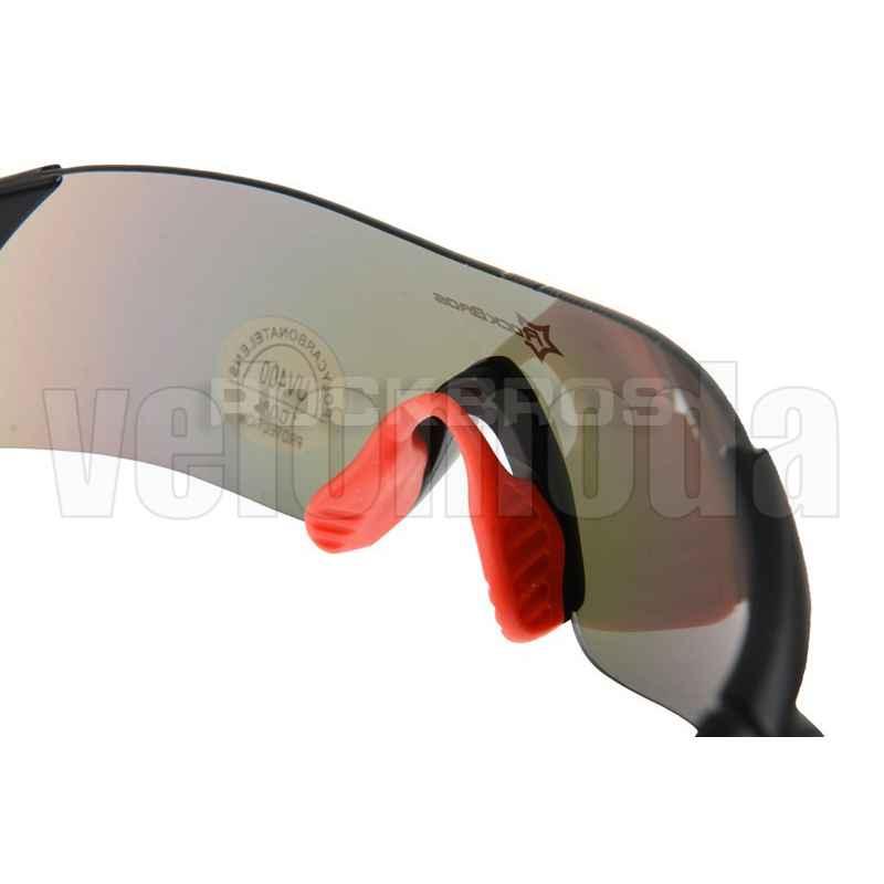 Очки велосипедные RockBros RB-10025 UV-400 (черные с красным)
