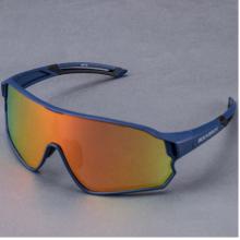 Очки велосипедные RockBros 10134 поляризационные, UV400 (Синие)