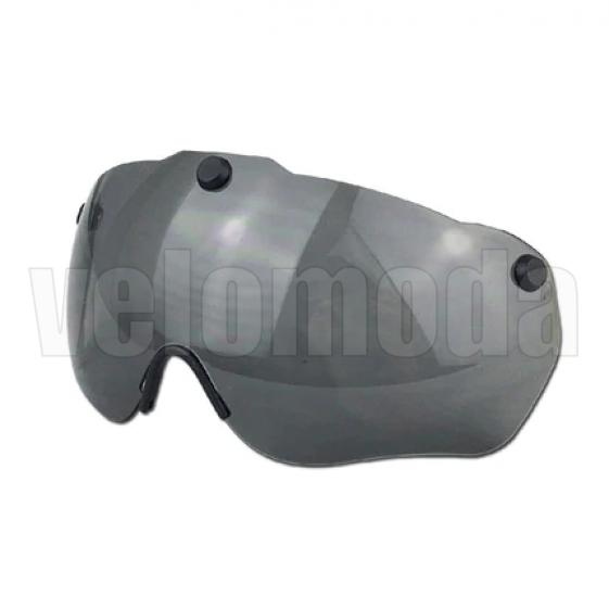 Визор сменный для велосипедного шлема магнитный GUB K80 plus UV-400 (Чёрный)