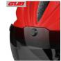 Визор сменный для велосипедного шлема магнитный GUB K80 plus UV-400 (Прозрачный)