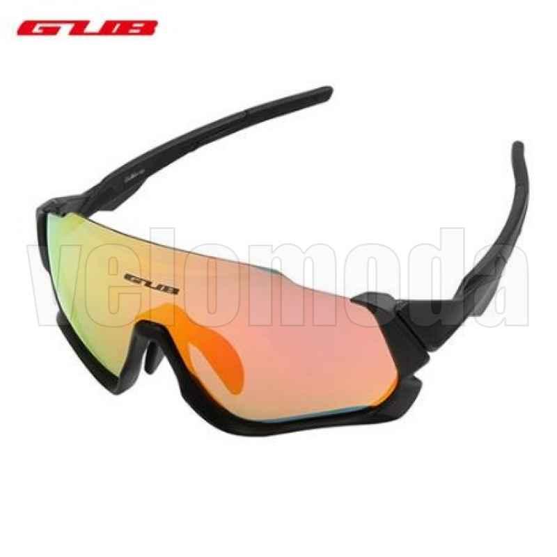Очки спортивные GUB 5700 (черные)