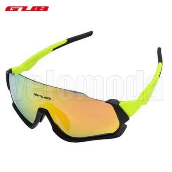 Очки спортивные GUB 5700 (зеленые)