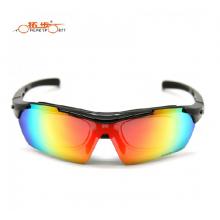 Очки велосипедные Topeak Sports с диоптриями TSR838 UV400 + Polarized (черные)