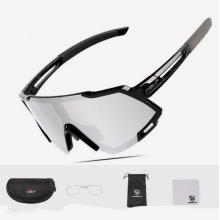 Очки велосипедные GUB 6300 фотохромные, UV400 (Чёрные)