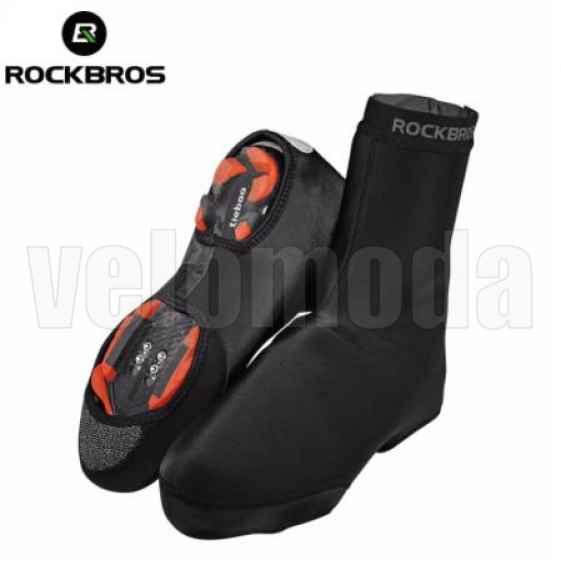 Защита обуви велосипедиста, бахилы утепленные Rockbros LF1015 (р-р 38-42)