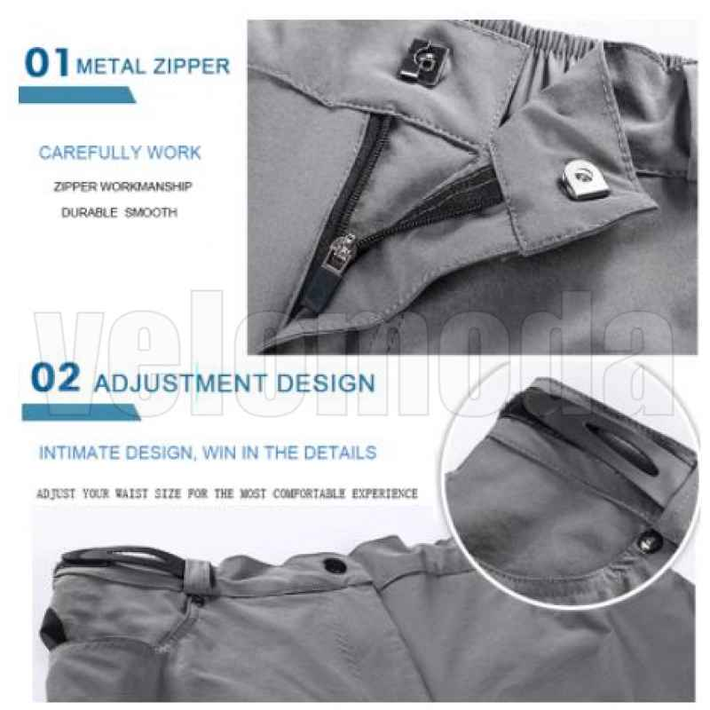 Летние свободные MTB шорты X-Tiger DSK101 размер XXL (Черный)