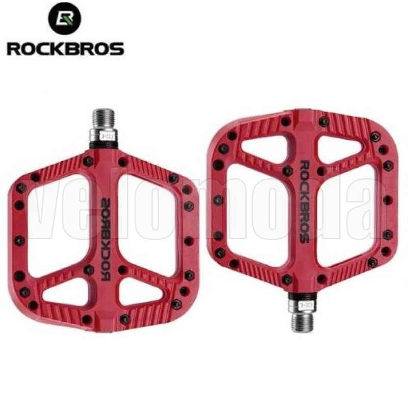 Педали для велосипеда Rockbros 2018-12A (Красный)