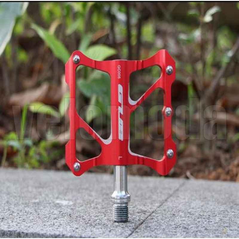 Педали для велосипеда GUB GC-020 (Красные)