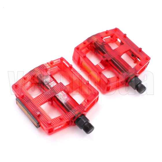 Педали для велосипеда Rockbros TB1001 (красные)