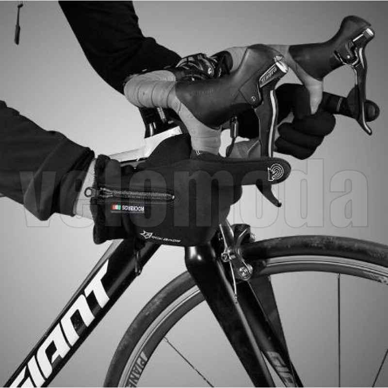 Велоперчатки Rockbros S091 утепленные с поддержкой Touchscreen (Черный L)