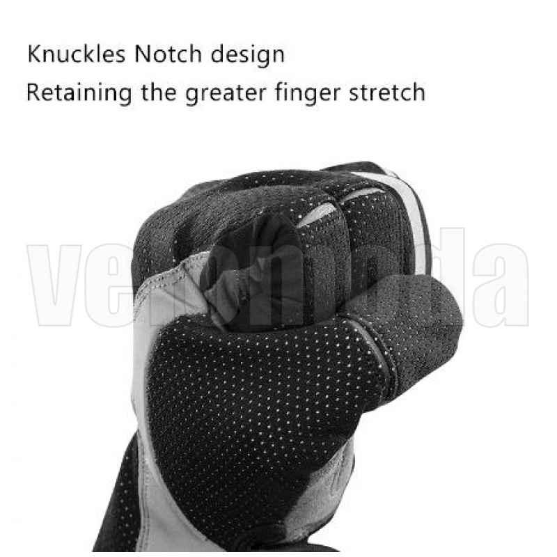 Велоперчатки Rockbros S173 утепленные с поддержкой Touchscreen (Черный XL)