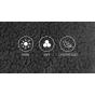 Велоперчатки RockBros S091-2BK утеплённые (Чёрные M)