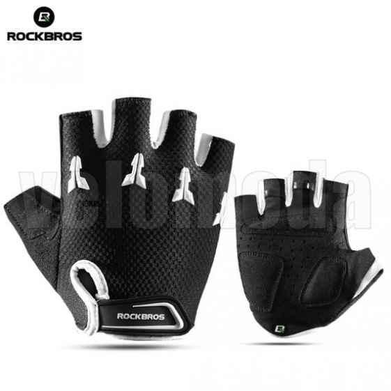 Велоперчатки детские Rockbros S145 XS (черный-белый)