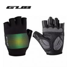 Велоперчатки GUB S052 L дышащие, Anti-Slip (Черно-зелёные)