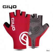 Велоперчатки Giyo S-02 XXL с гелем (Красные)