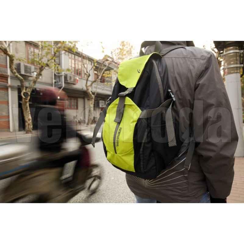 Походный велорюкзак трансформер (яркий желтый)