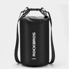 Сумка на багажник 20л Rockbros AS-001 водонепроницаемая (черный, 1шт)