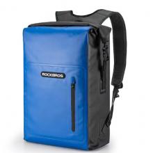Водонепроницаемая сумка-рюкзак RockBros AS-032Y (Черно-синяя)
