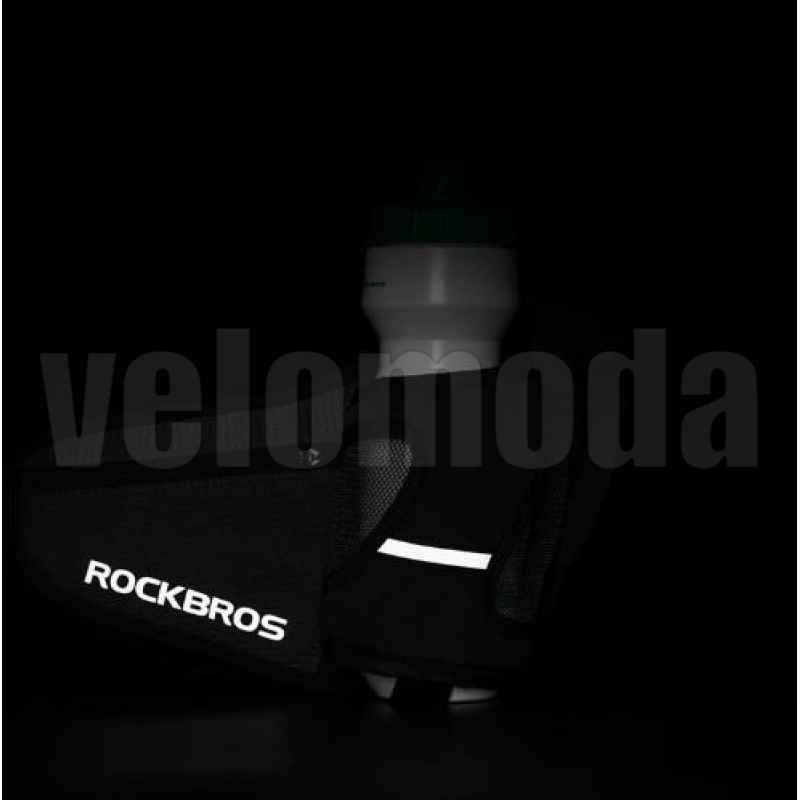 Поясная сумка Rockbros D36 с отделением для бутылки (черная)
