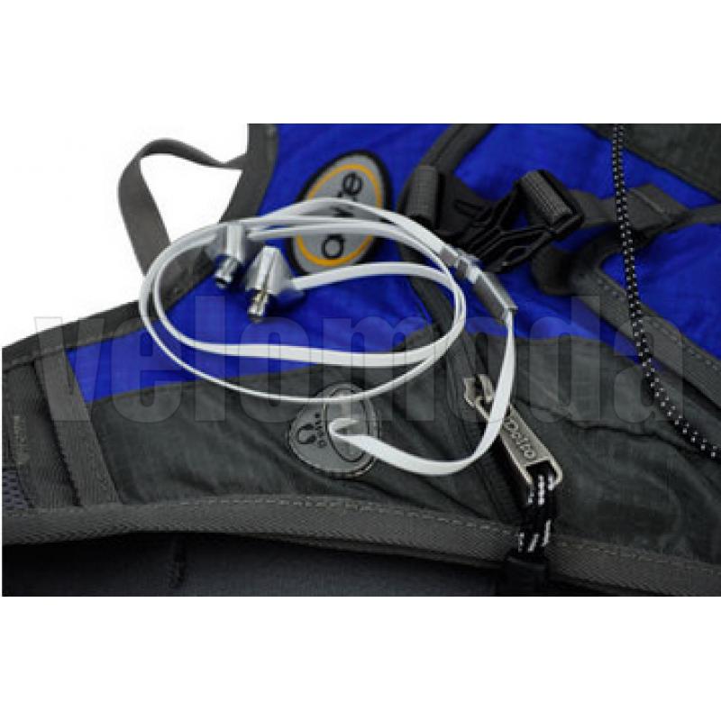Велорюкзак ортопедический 6 л. Doite Breathe (красный)