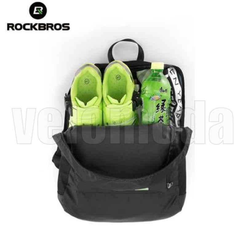 Велорюкзак трансформер Rockbros H10 (черный)