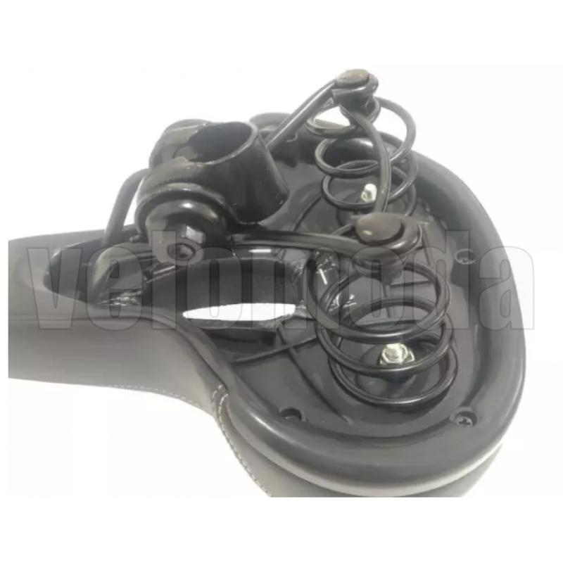Седло для велосипеда Raypal 1015-509 Анти-Шок (Чёрное)