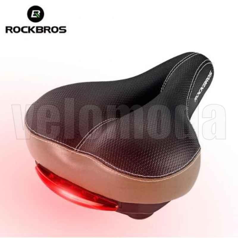 Седло для велосипеда Rockbros FU-3300L с вентиляцией и габаритом