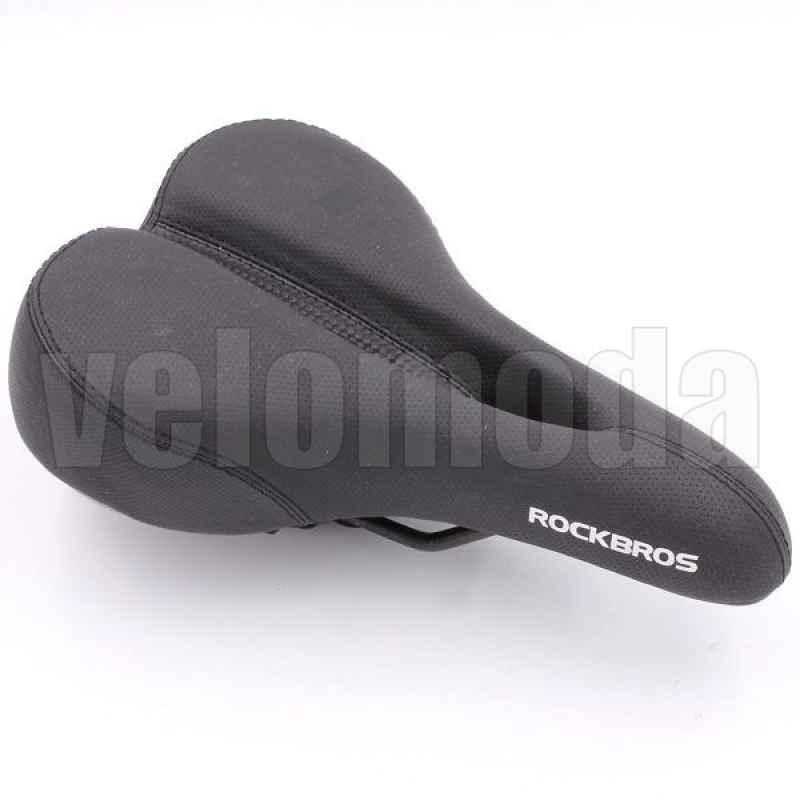 Седло для велосипеда Rockbros Анти-Шок с вентиляцией и габаритом