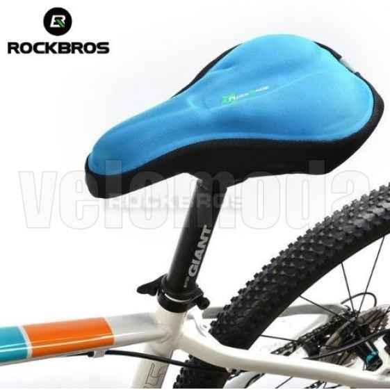 Накладка на седло велосипеда Rockbros LF021 (синий)