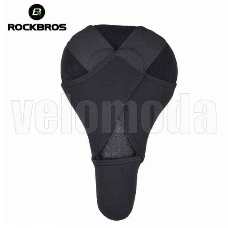 Накладка на седло велосипеда Rockbros LF1034 (красный)