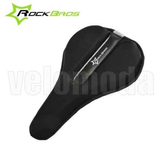 Накладка на седло велосипеда Rockbros LF023 (черный)
