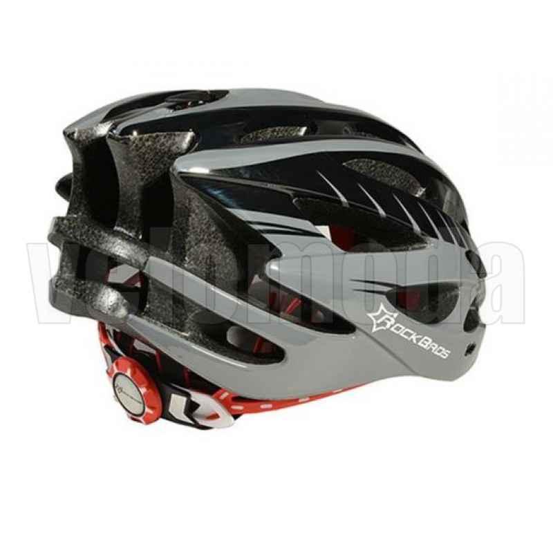 Велошлем Rockbros WT-027 (Черный с серым)
