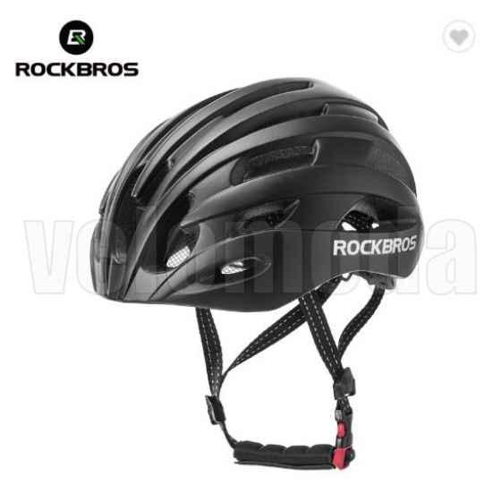 Велошлем Rockbros TT-20 (Черный матовый)