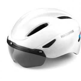 Велошлем GUB K80 Plus с визором (Черный)