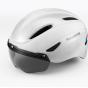 Велошлем с визором Rockbros WT-018S-CP (Белый)