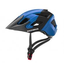 Велошлем Rockbros TS-39-BB (Чёрно-синий)