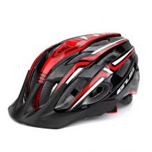 Велошлем GUB A2 с габаритом (Чёрно-красный)