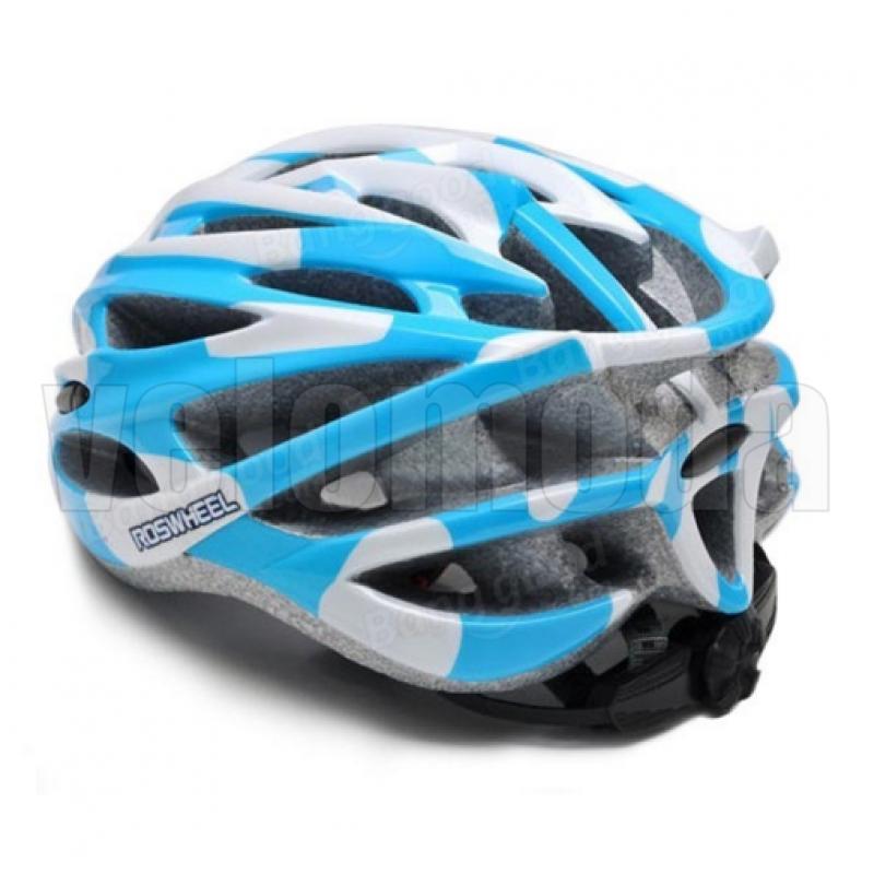 Велошлем Sahoo Cool Ride 91587-B (бело-синий)
