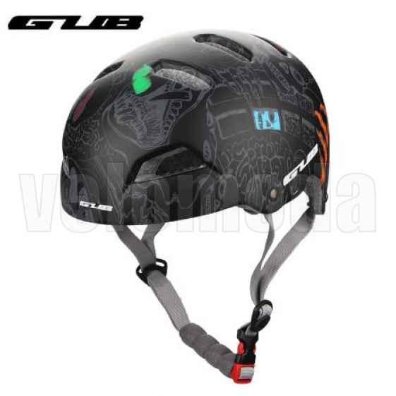 Шлем спортивный MTB Gub V1 (Граффити)