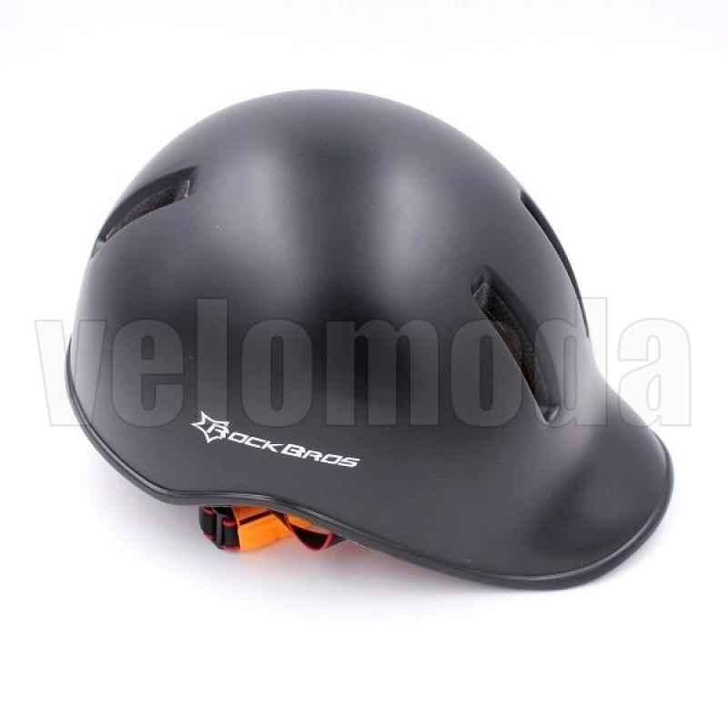 Велошлем Rockbros TT-13 (Черный матовый)