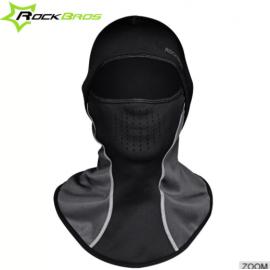 Велошлем Rockbros WT-027 (Черный с желтым)