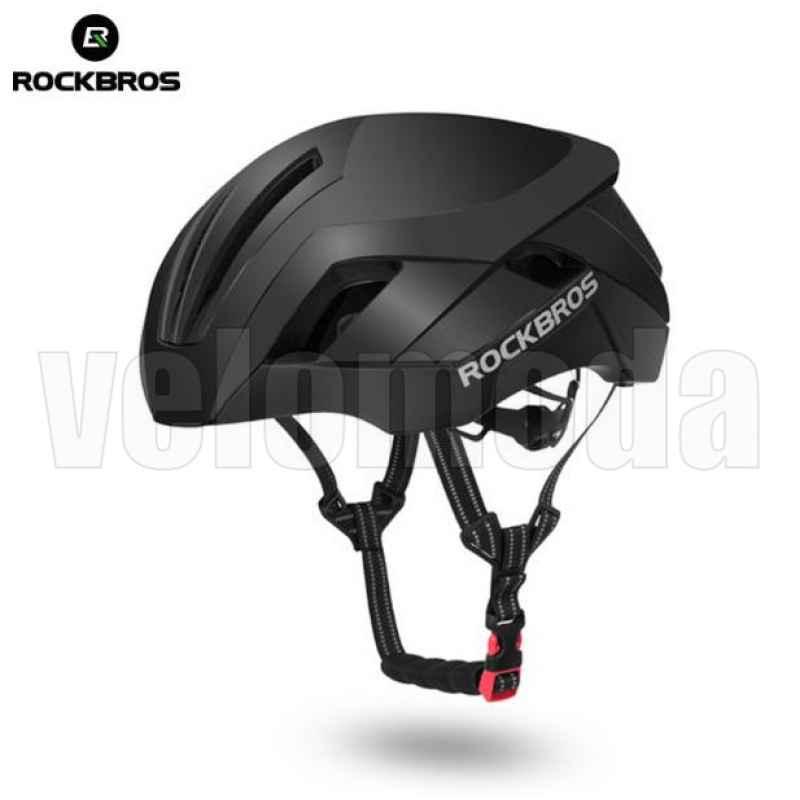 Велошлем RockBros TT-30 (Чёрный матовый)